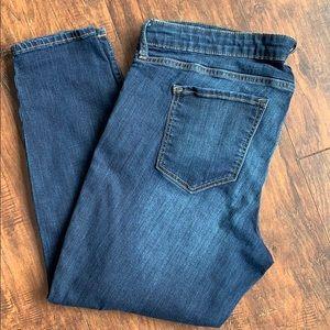 Gap ankle length skinny jeans
